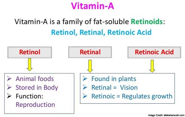 Vitamin A info