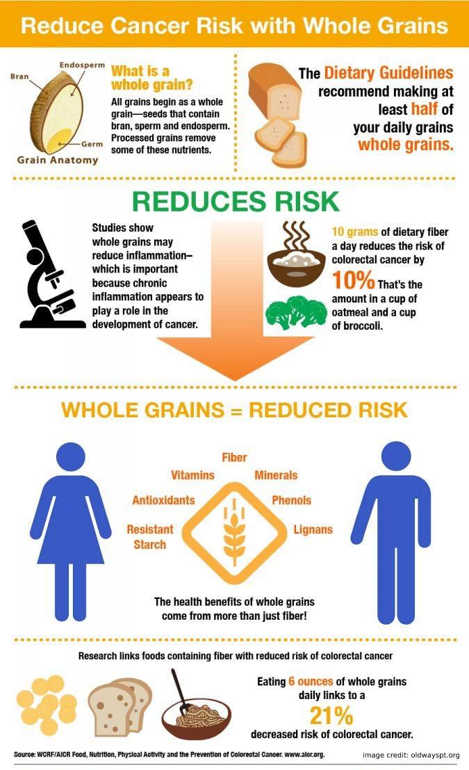Whole Grains Infographics 2016